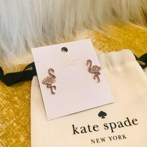 Kate Spade ♠️ Flamingo Earrings